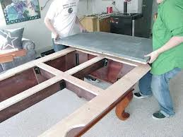 Pool table moves in La Crosse Wisconsin