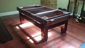 Correctly performing pool table installations, La Crosse Wisconsin